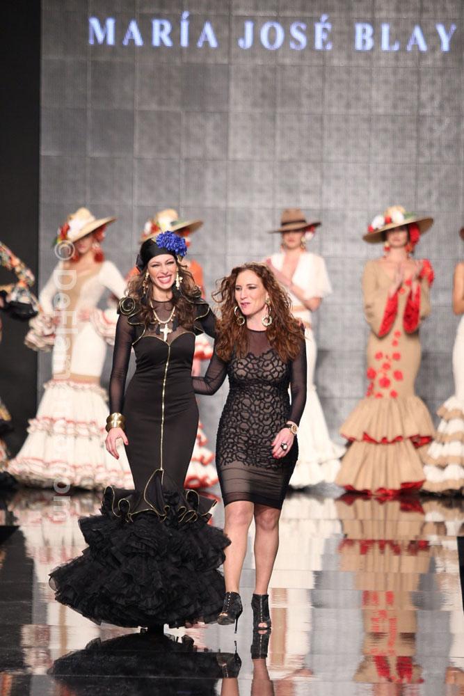 "M.J. Blay ""Veritades"" Simof 2014, trajes de flamenca"