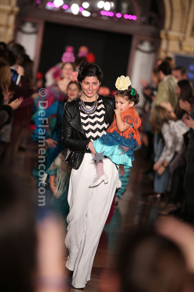 Rocío Peralta, desfile infantil – We Love Flamenco 2014