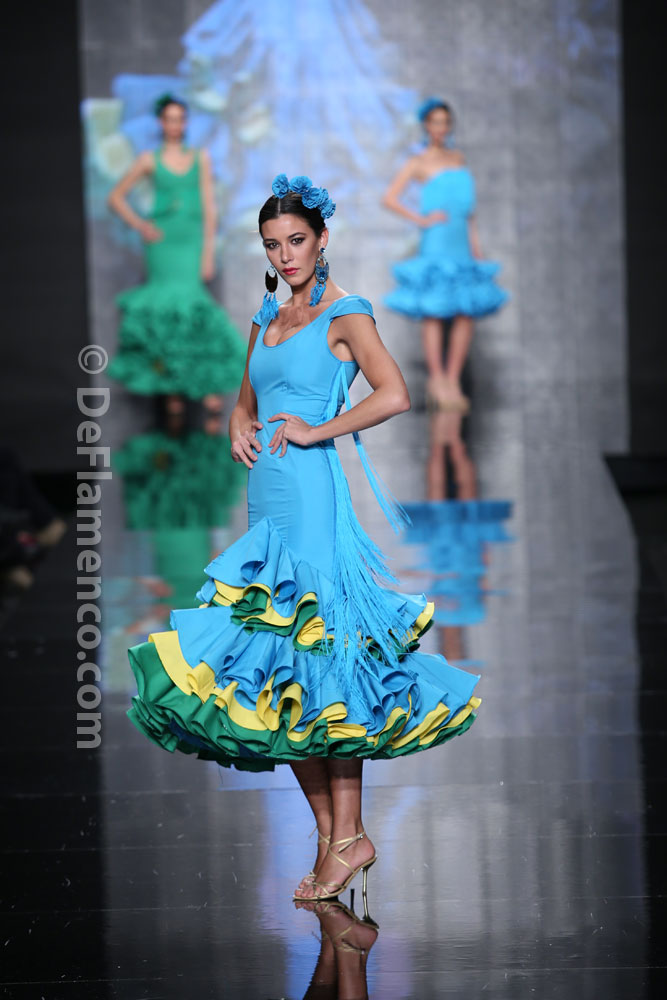 Rosapelua Moda Flamenca Simof 2014