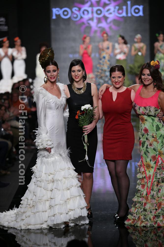 """Rosapeula Moda Flamenca """"Edén"""", Simof 2014"""