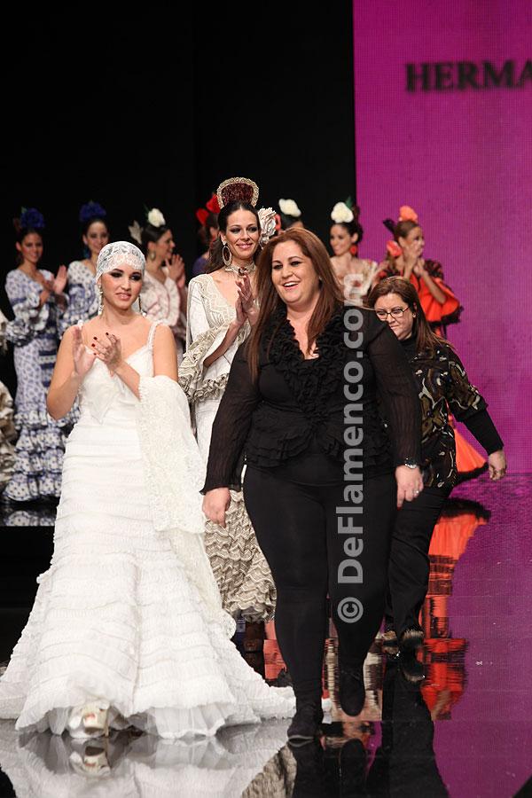 Simof 2012. Diseños Hermanas Serrano Trajes de Flamenca