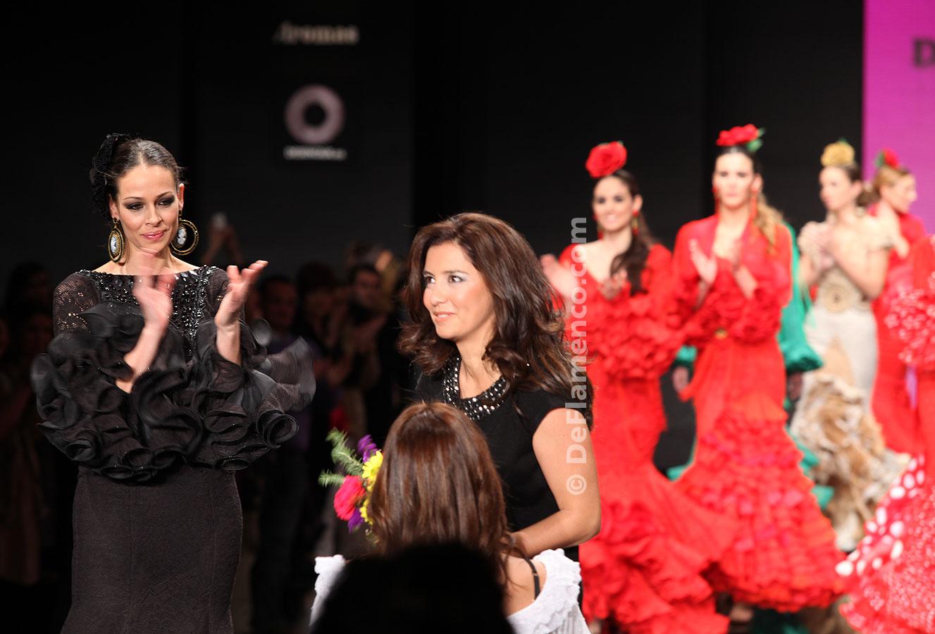 Simof 2012.Faly de la Feria al Rocío Trajes de Flamenca