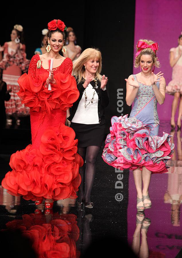Simof 2012. Carmen Vega.  Moda Flamenca
