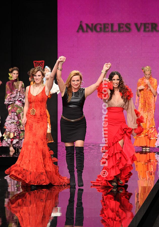 Simof 2012. Ángeles Verano.   Moda Flamenca