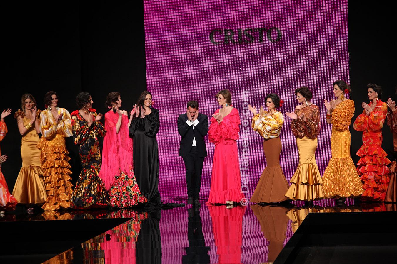 Simof 2012. Cristo Bañez. Trajes de Flamenca