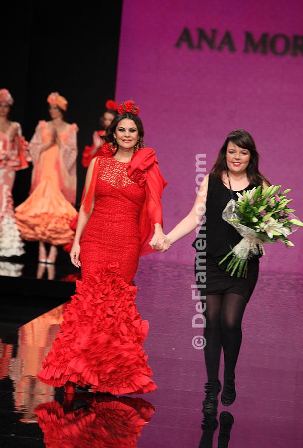 Simof 2012. Ana Morón, Moda Flamenca