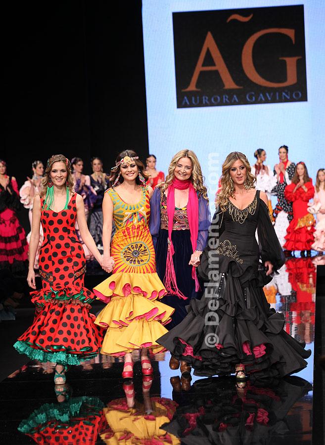 Simof 2012. Aurora Gaviño, moda flamenca