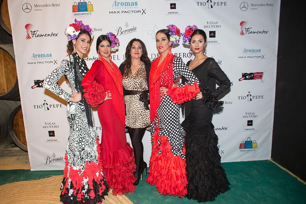 Amparo Macía – Pasarela Flamenca Jerez 2015