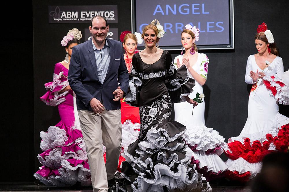 Ángel Corrales – Noveles – Pasarela Flamenca Jerez 2015