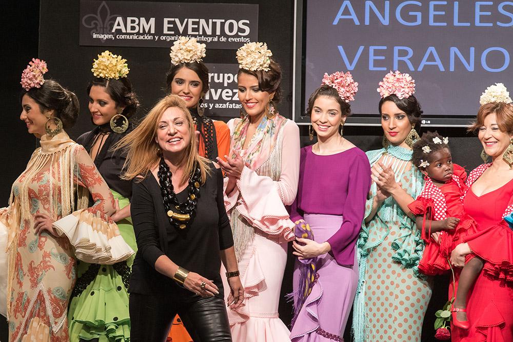 Ángeles Verano – Pasarela Flamenca Jerez 2015