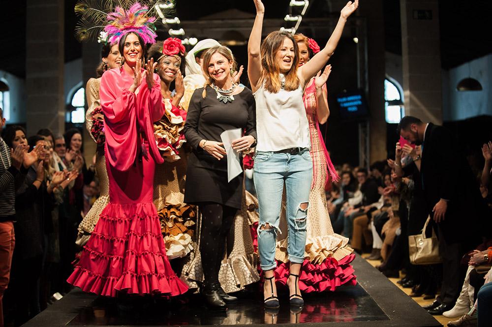 Amaranta Pozo & PilarArregui – Ganadoras Noveles Pasarela Flamenca Jerez 2015
