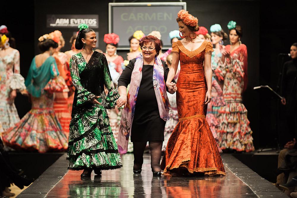 Carmen Acedo – Pasarela Flamenca Jerez 2015