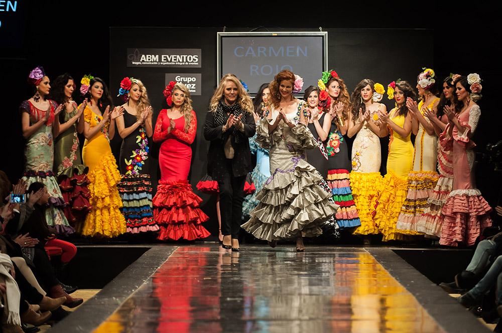 Carmen Rojo – Pasarela Flamenca Jerez 2015