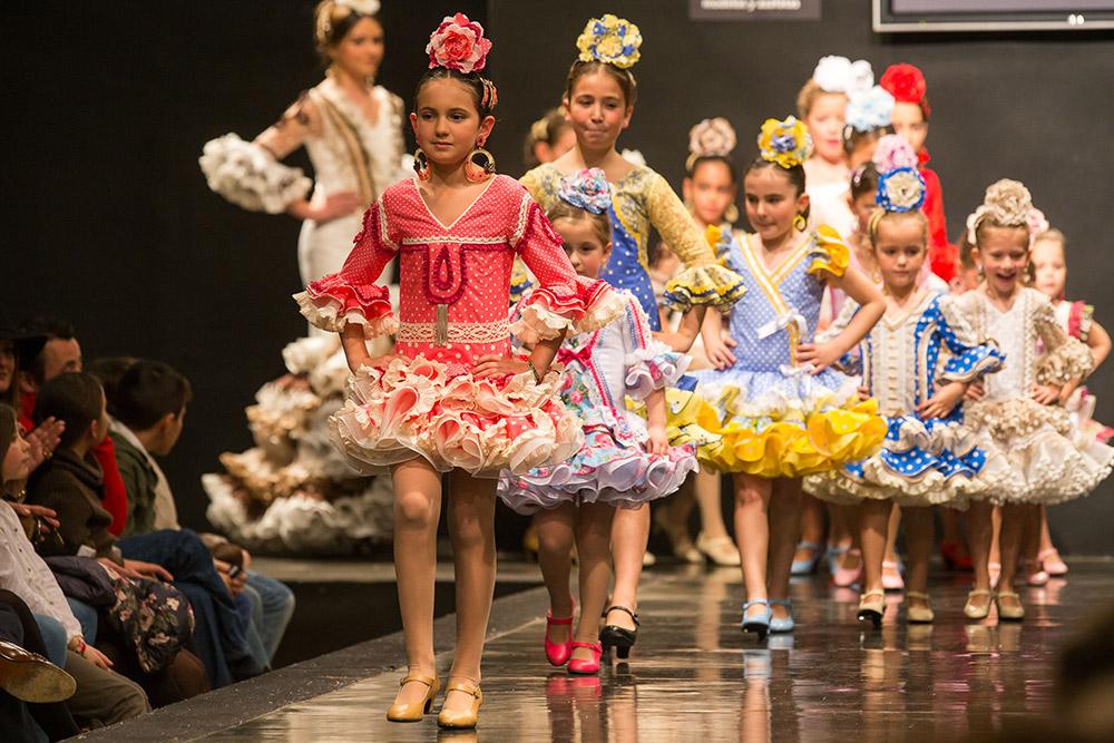 Desfile infantil – Pasarela Flamenca Jerez 2015