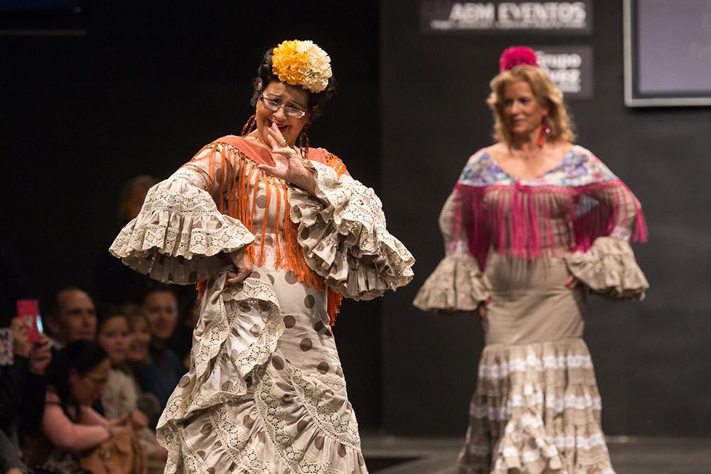Desfile 3ª edad - Pasarela Flamenca Jerez 2015