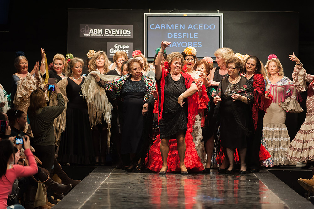 Desfile 3ª Edad – Carmen Acedo – Pasarela Flamenca Jerez 2015