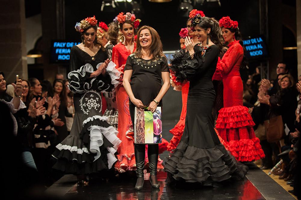 Faly de la Feria al Rocío – Pasarela Flamenca Jerez 2015