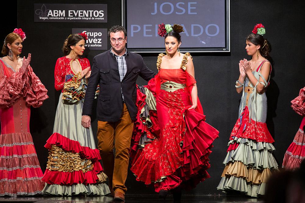 José Peinado – Noveles Pasarela Flamenca Jerez 2015