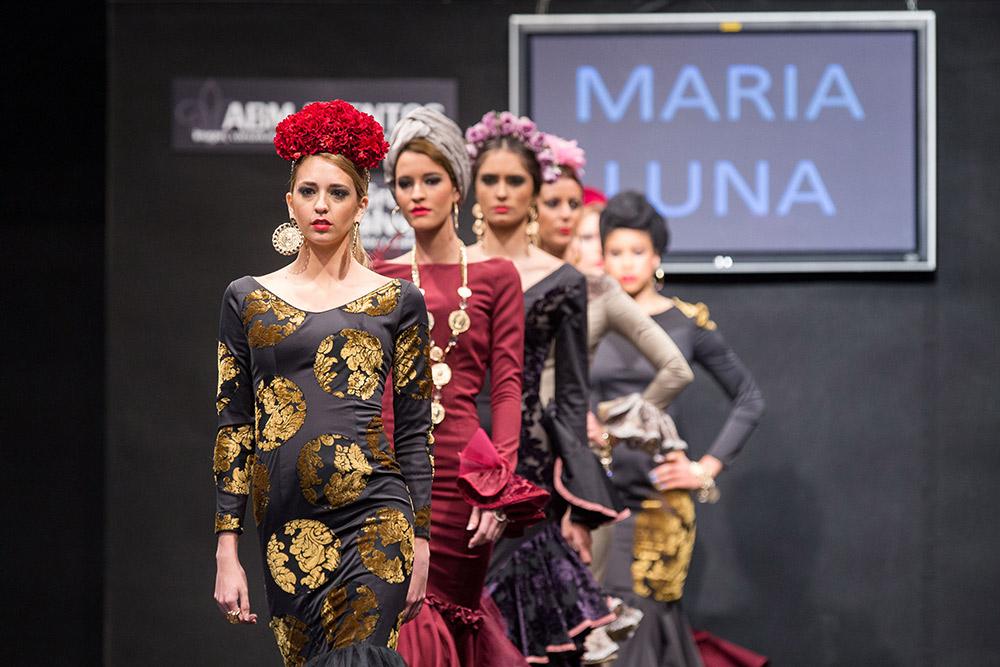 María Luna – Contratiempo – Noveles Pasarela Flamenca Jerez 2015