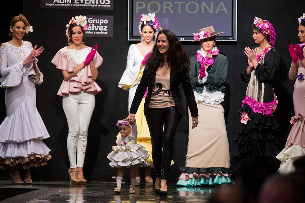 Portona – Al alba – Noveles Pasarela Flamenca Jerez 2015