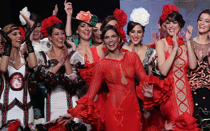 Simof 2015. Fotografías & videos de Moda Flamenca y Trajes de Flamenca