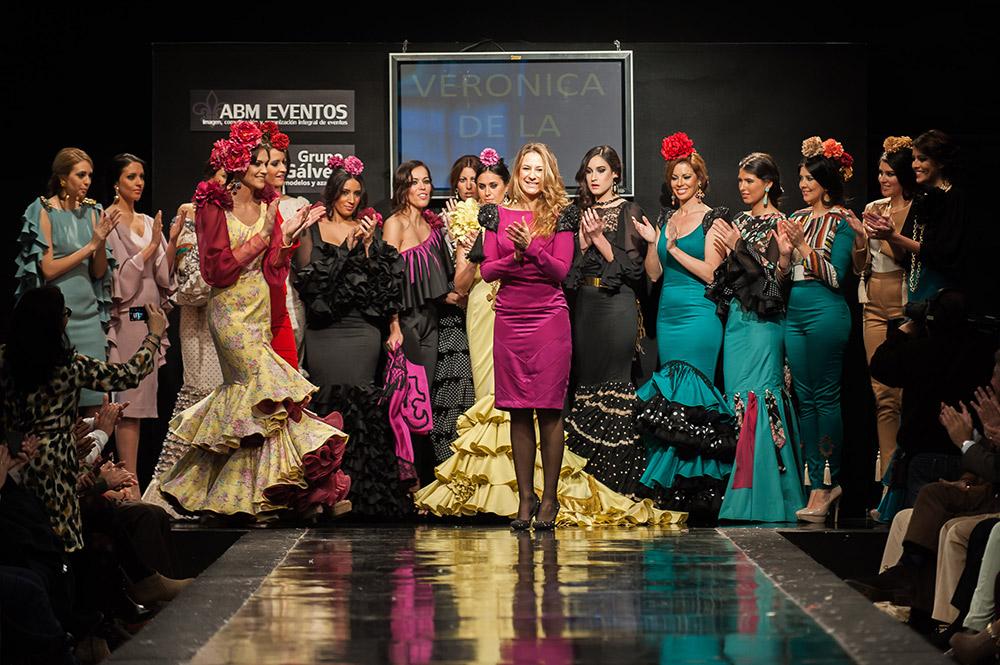 Verónica de la Vega – Pasarela Flamenca Jerez 2015