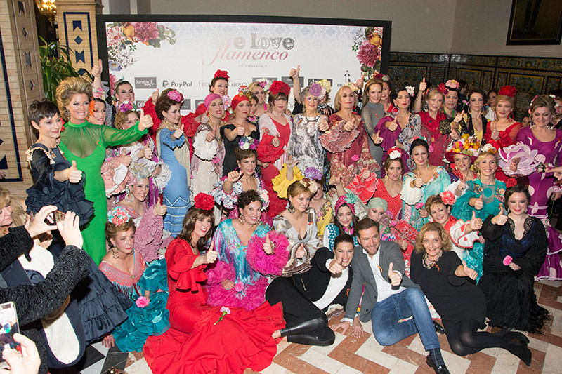 We Love Flamenco – Sandra Ibarra, Antonio Moro, Lola Azahares, Rocío Olmedo, Raquel Terán.