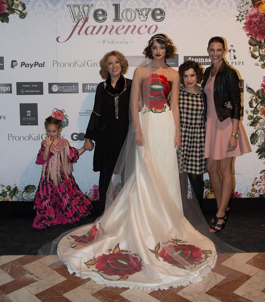 """Ángela y Adela – Taller de Diseño """"Egoísta"""" – We Love Flamenco 2016"""