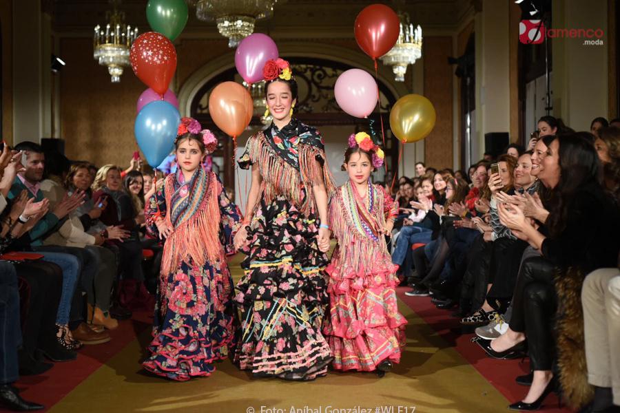 Desfiles de moda flamenca infantil en el Hotel Alfonso XIII a favor de UNICEF