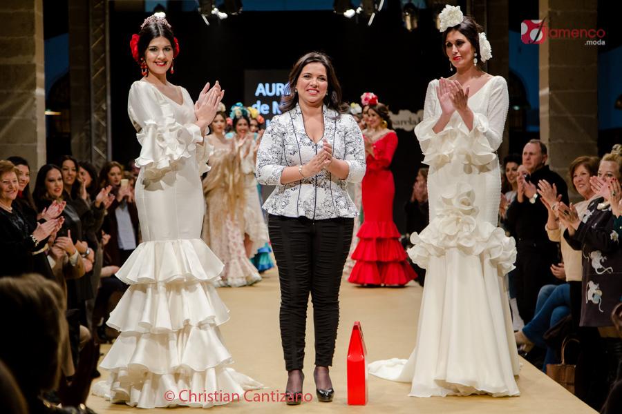 'AURORA' Mª Luisa Beato 'MI JARDÍN FLAMENCO' – Pasarela Flamenca Jerez 2017