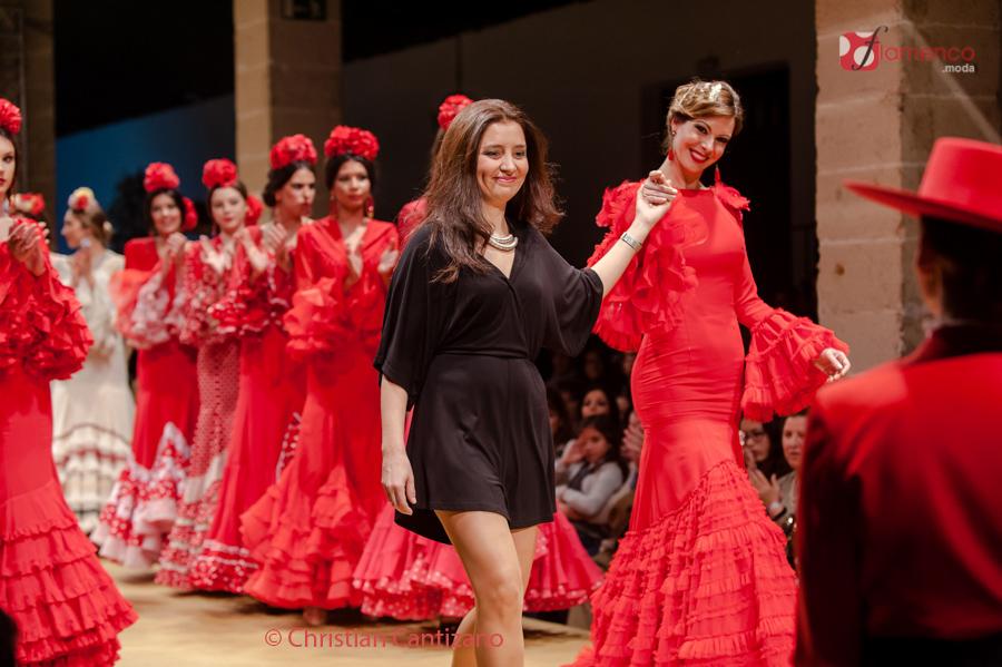 'Faly, de la Feria al Rocío' Macarena Beato – Pasarela Flamenca Jerez