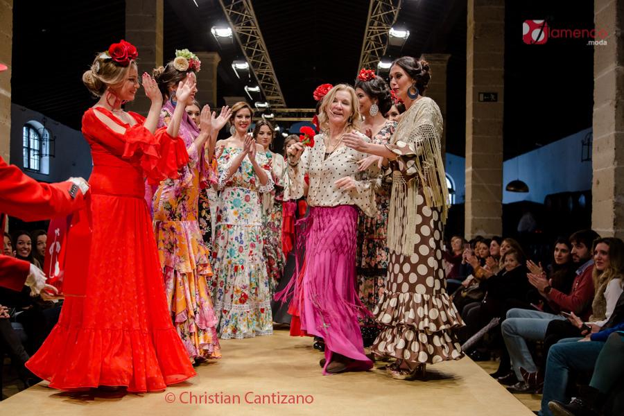 Lucía Franch 'Esto es una locura' – Pasarela Flamenca Jerez 2017