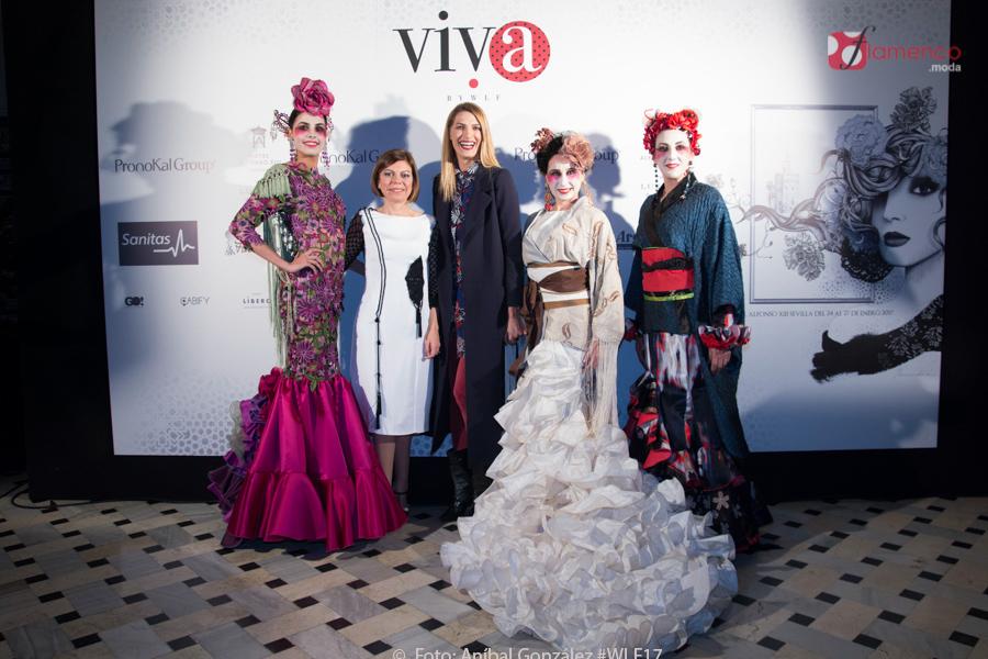 María José Segura – Colección Geishas Flamencas – Viva by WLF