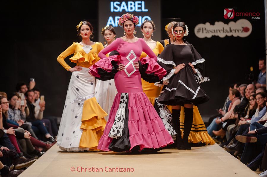 Diseñadores Noveles – Isabel Araújo – Pasarela Flamenca Jerez
