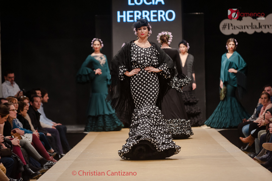 Diseñadores Noveles – Lucía Herreros – Pasarela Flamenca Jerez