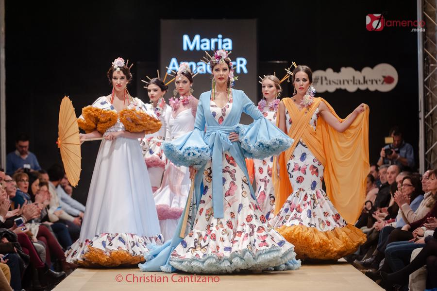 Diseñadores Noveles – María Amador – Pasarela Flamenca Jerez
