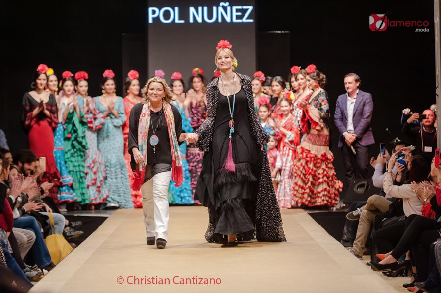 "Flamenca Pol Núñez – ""Retales de ilusiones"" – Pasarela Flamenca Jerez"