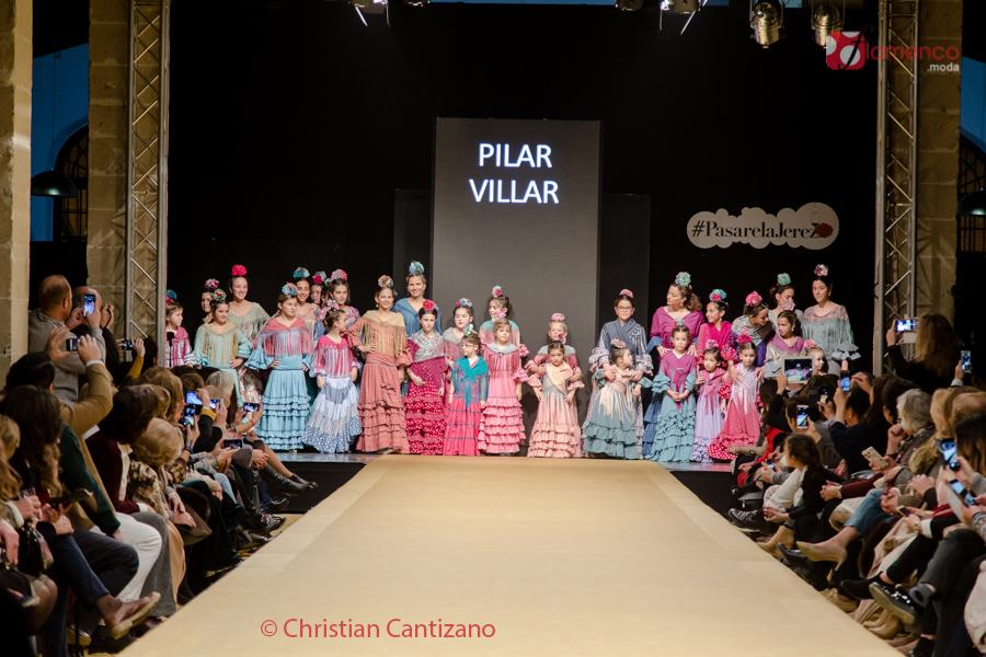"""""""El Arconcito"""" de Pilar Villar – """"Sol"""" – Pasarela Flamenca Jerez 2017"""