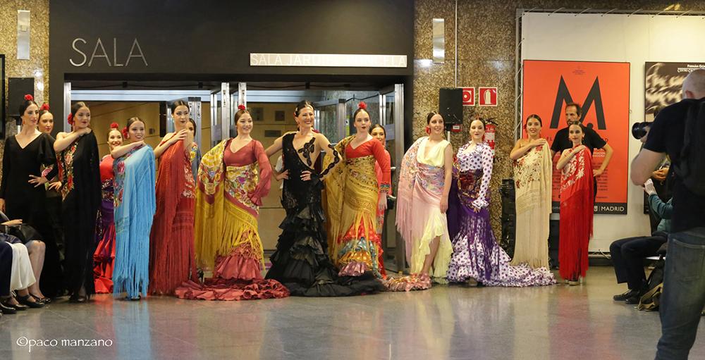 Desfile de Moda Flamenca José Galvañ en Madrid