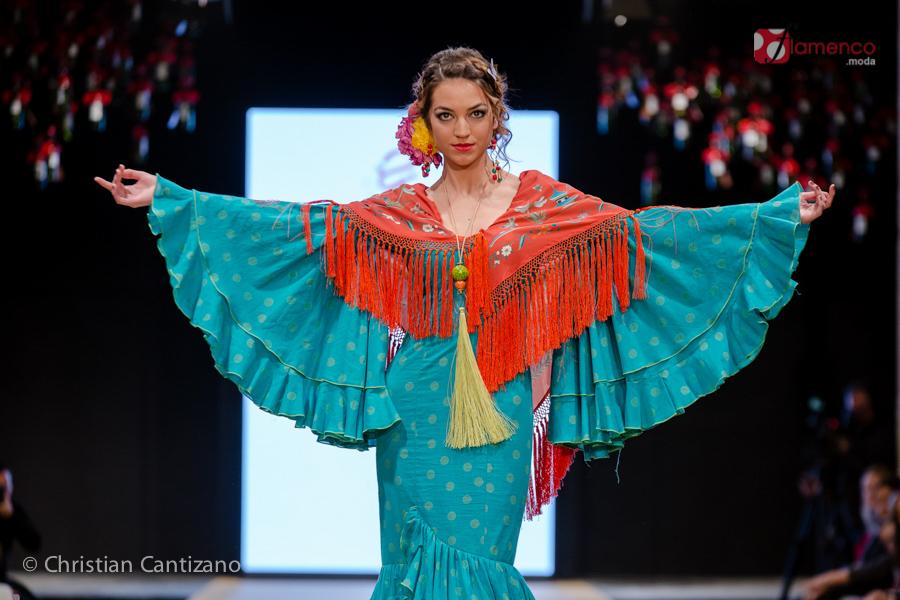 Flamenka Pol Nuñez - Pasarela Flamenca Jerez