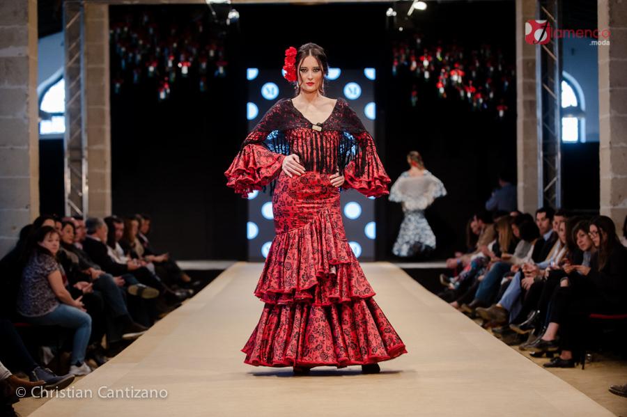 Micaela Villa - Pasarela Flamenca Jerez 2018