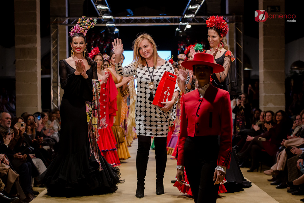 "Ángeles Verano ""A mi manera"" Pasarela Flamenca Jerez 2018"