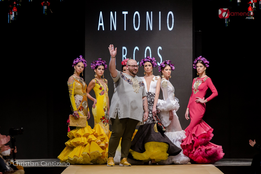 Antonio Arcos - Noveles Pasarela Flamenca Jerez 2018