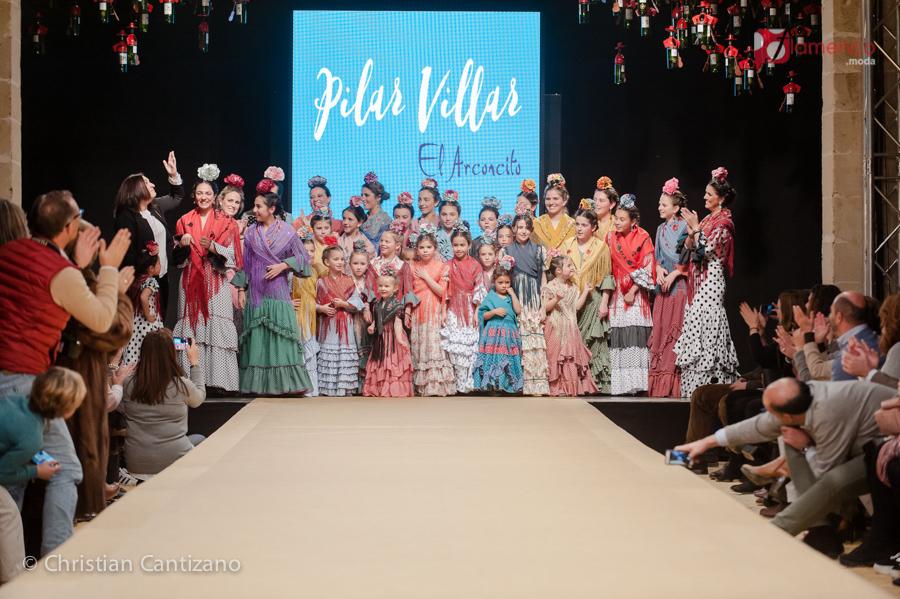 """""""El arconcito"""" de Pilar Villar – Pasarela Flamenca Jerez 2018"""