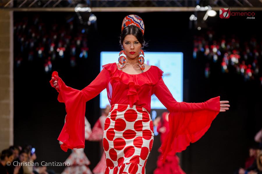 Susi-p Flamenca - Pasarela Flamenca Jerez 2018