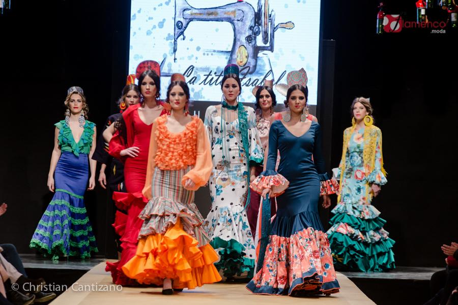 "Susi-p Flamenca ""La tita Isabel""  – Pasarela Flamenca Jerez 2018"
