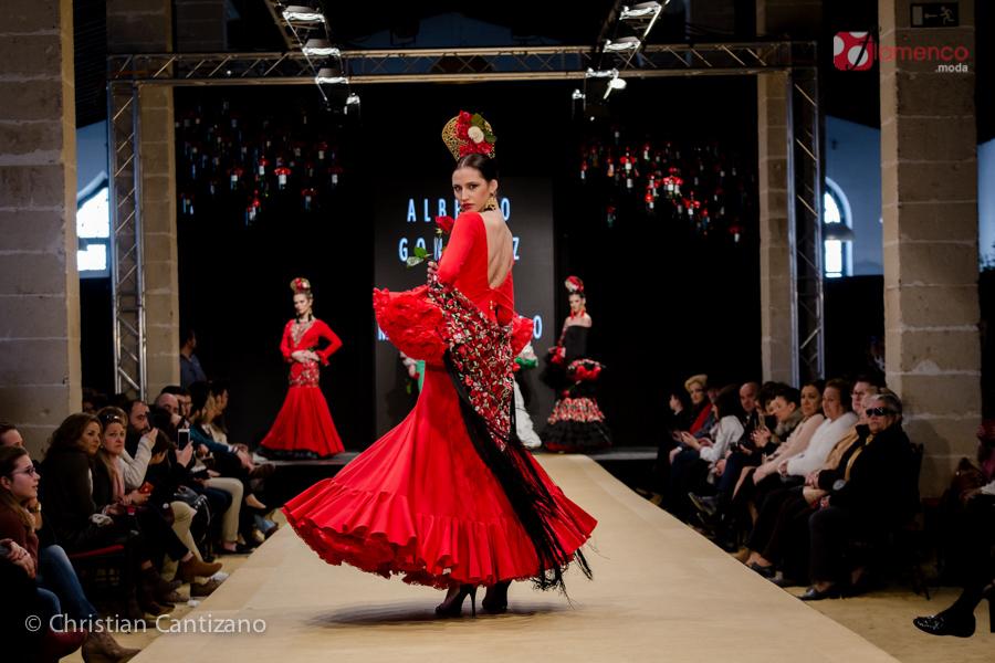 Alberto González & María Diego Noveles Pasarela Flamenca Jerez 2018