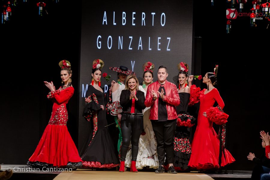 """Alberto González & María Diego """"Nuestra esencia"""" – Noveles Pasarela Flamenca Jerez 2018"""