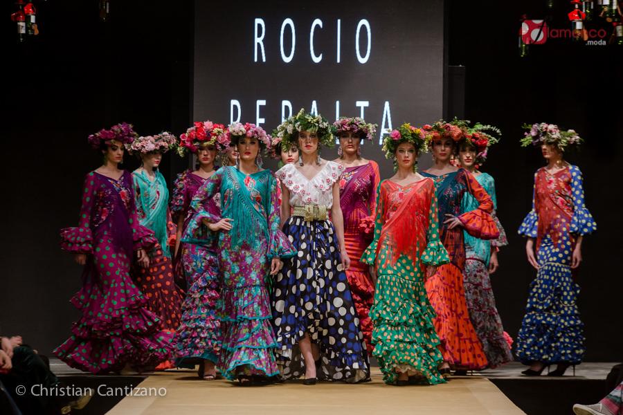 "Rocío Peralta ""Montpensier""  – Pasarela Flamenca Jerez 2018"