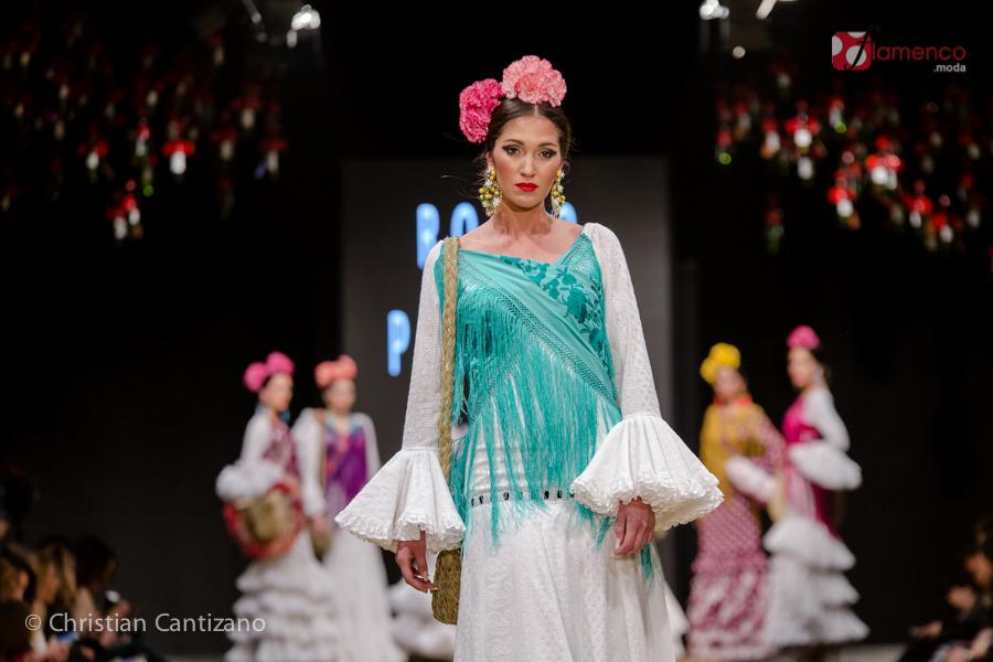 Rocío Peralta - Pasarela Flamenca Jerez 2018